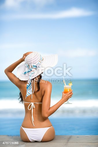 istock back view of fit young woman in bikini 475723086