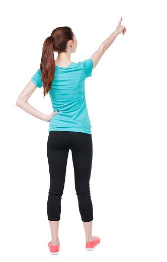 Backache stock photo. Image of illness, unwell, female