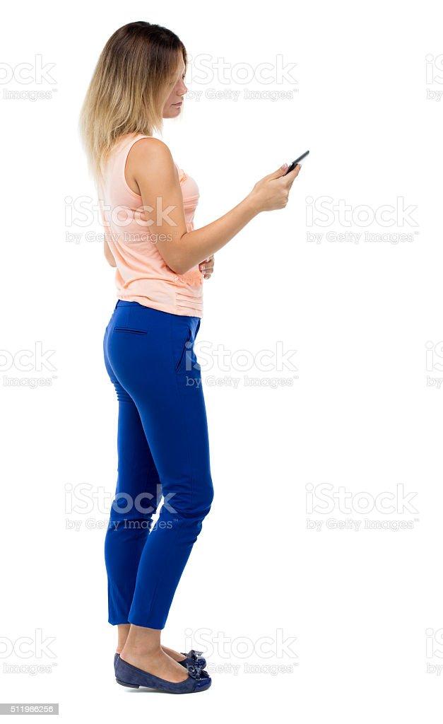 Картинка красивой девушки сзади, предложения секса без презерватива