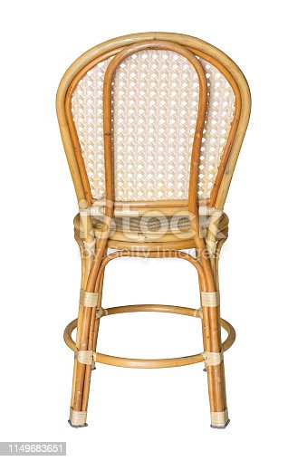 istock back view of wicker chairs isolated on white with clipping path 1149683651