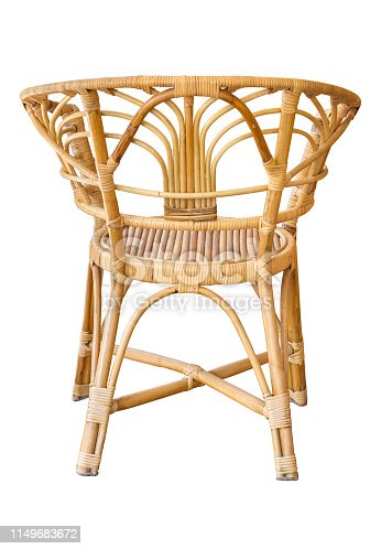 istock back view of wicker chairs isolated on white with clipping path 1149683672