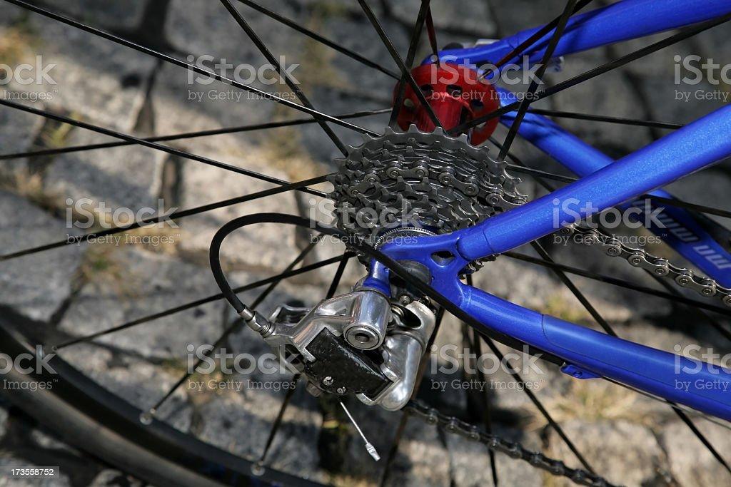 Back Wheel royalty-free stock photo