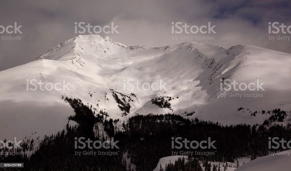 Backcountry Bowl stock photo