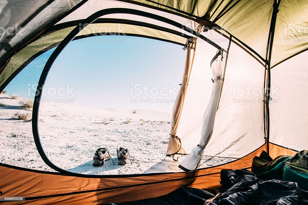 Backcountry Camping Trip stock photo
