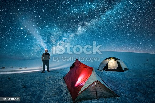 istock Backcountry Camping under the Stars 532849204