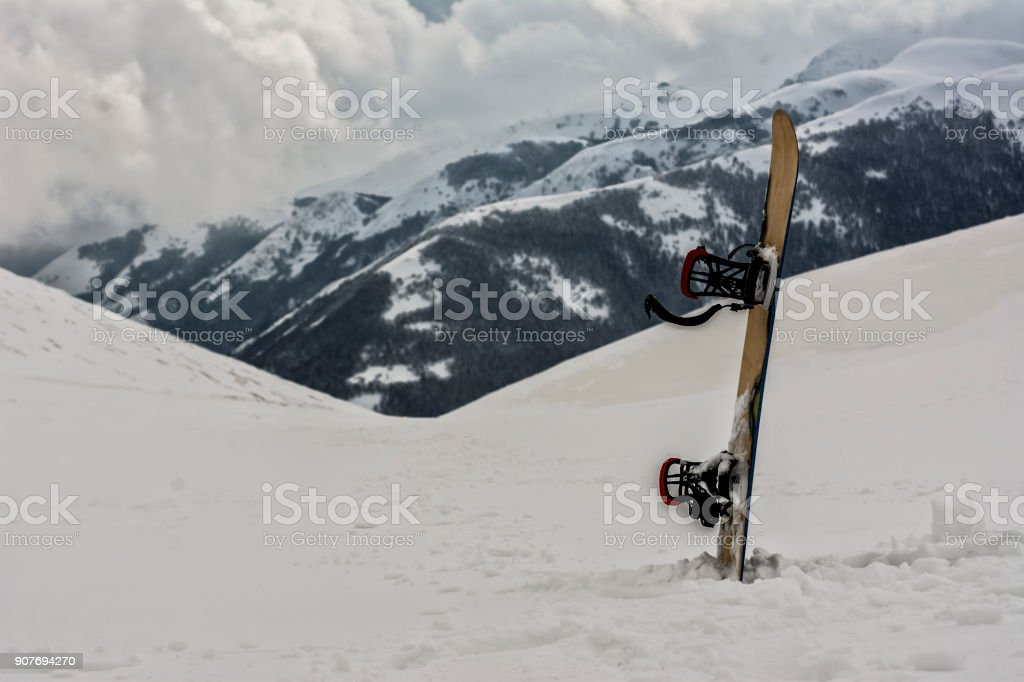 Backcountry FreeRide stock photo