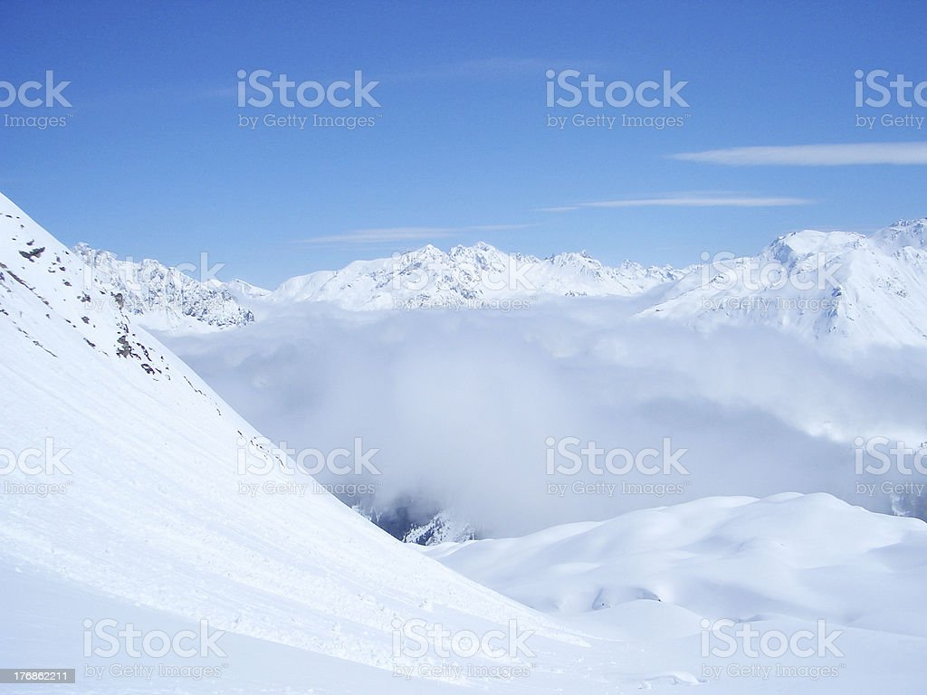 backcountry of the mountains royalty-free stock photo
