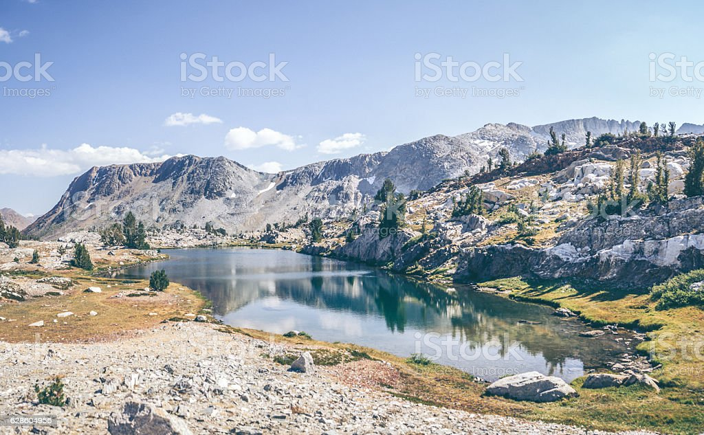 Backcountry of the Sierra Nevada Mountians stock photo