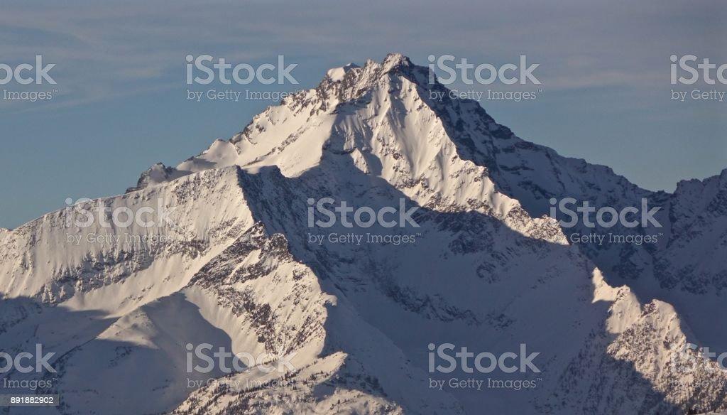 Backcountry Peak stock photo