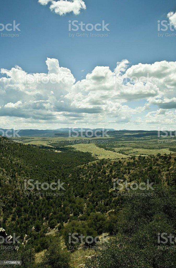 Backcountry Vista In Arizonas High Country Stock Photo ...