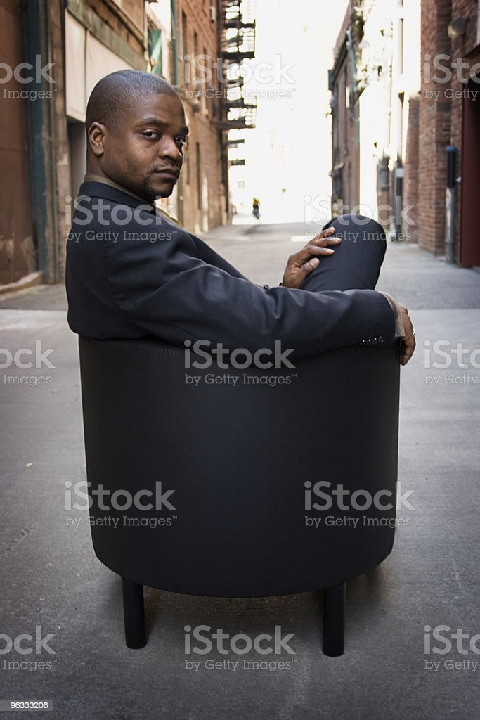 Backdoor Business royalty-free stock photo