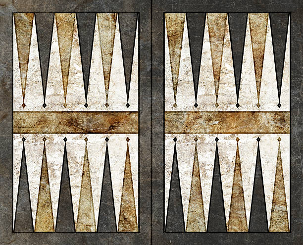 backgammon background empty board table - backgammon stock pictures, royalty-free photos & images