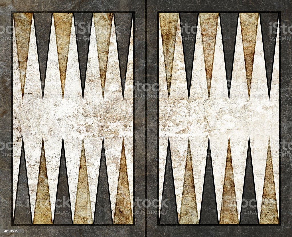 backgammon background empty board table stock photo