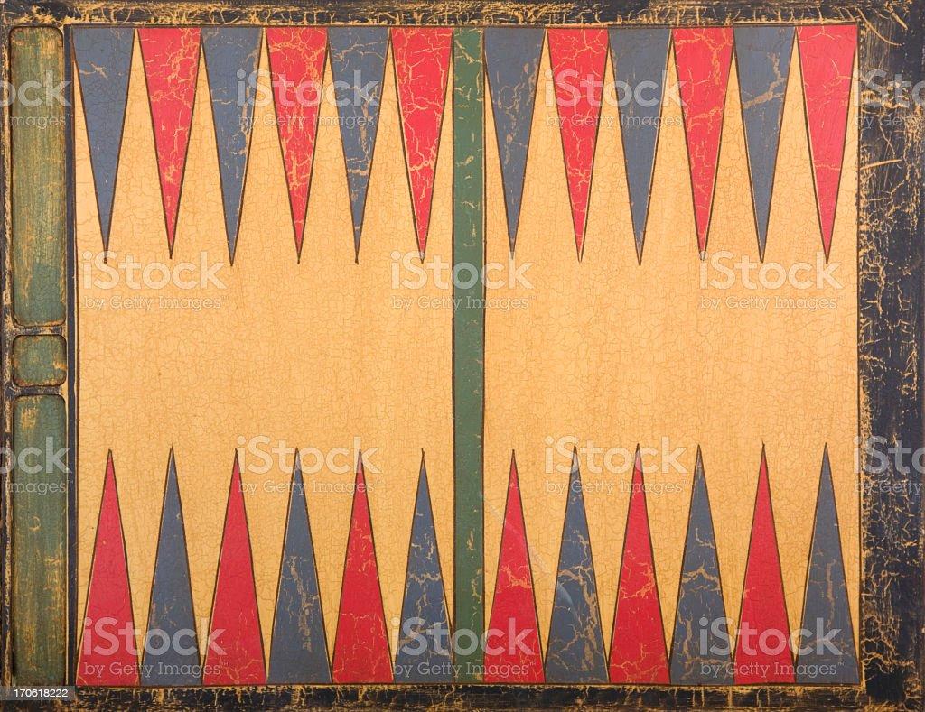 Backgammon Board Background stock photo