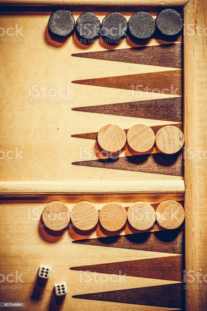 Backgammon de détail - Photo
