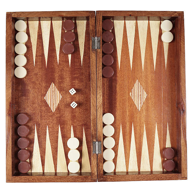 backgammon backgammon wooden tavli board game from greece                               backgammon stock pictures, royalty-free photos & images
