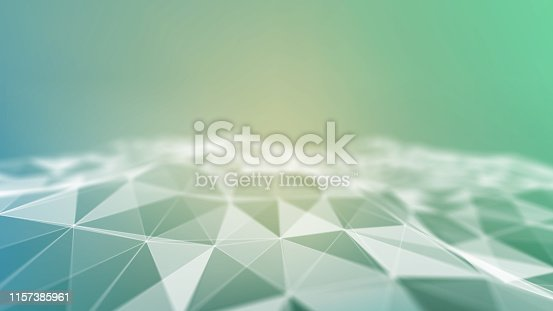 941338268istockphoto Background 3d grid.Cyber technology Ai tech wire network futuristic wireframe. Artificial intelligence . Cyber security background  illustration 1157385961