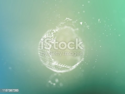 941338268istockphoto Background 3d grid.Cyber technology Ai tech wire network futuristic wireframe. Artificial intelligence . Cyber security background  illustration 1157387283