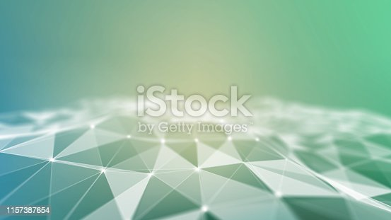 941338268istockphoto Background 3d grid.Cyber technology Ai tech wire network futuristic wireframe. Artificial intelligence . Cyber security background  illustration 1157387654