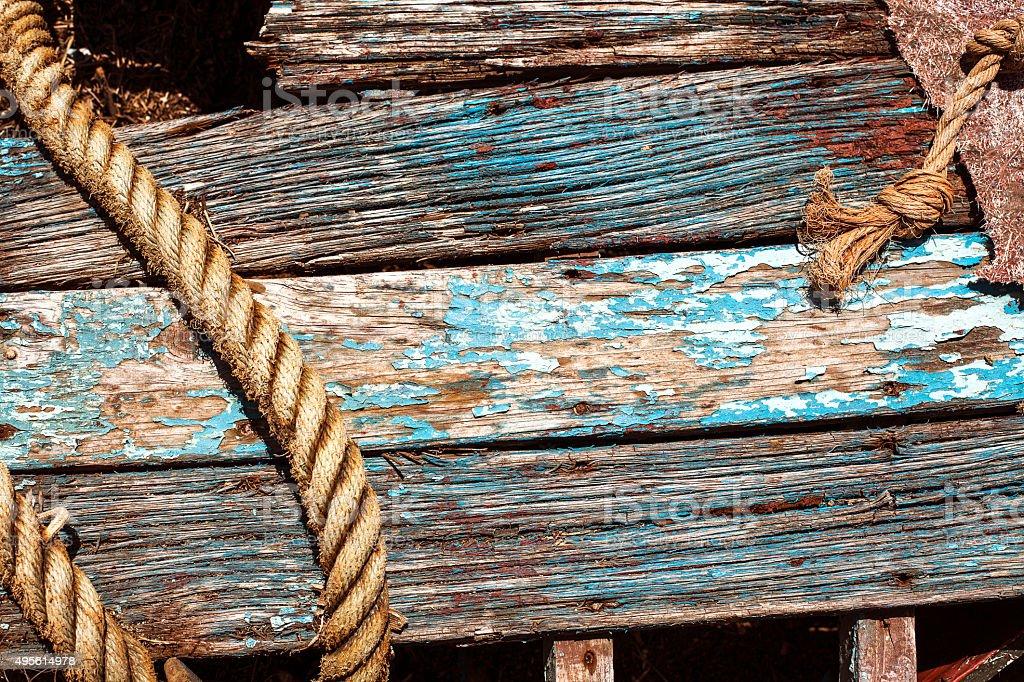 Background abandoned boat stock photo