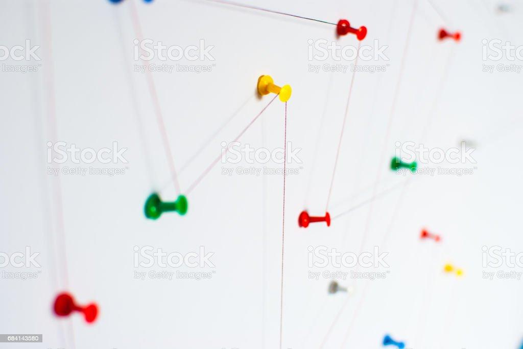 Achtergrond. Abstract concept van netwerk, sociale media, internet, teamwork, communicatie. royalty free stockfoto