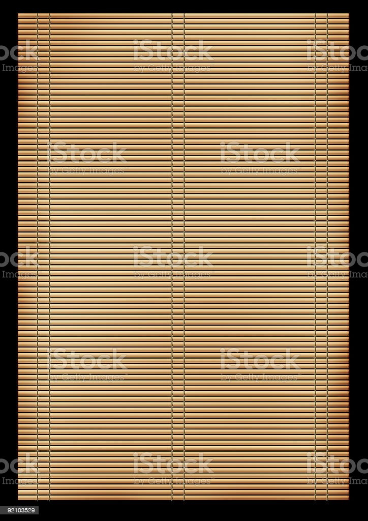 Background - an ancient Japanese reed mat royalty-free stock photo