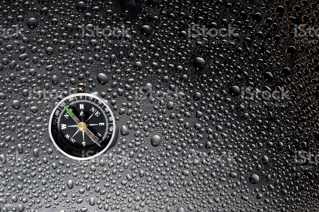 Background and compass stock photo