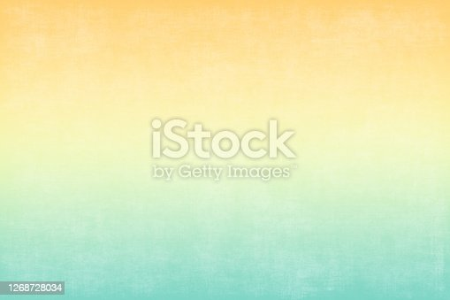 istock Background Autumn Orange Yellow Green Pale Grunge Gradient Colorful Pattern Abstract Concrete Marble Paper Texture Minimalism 1268728034