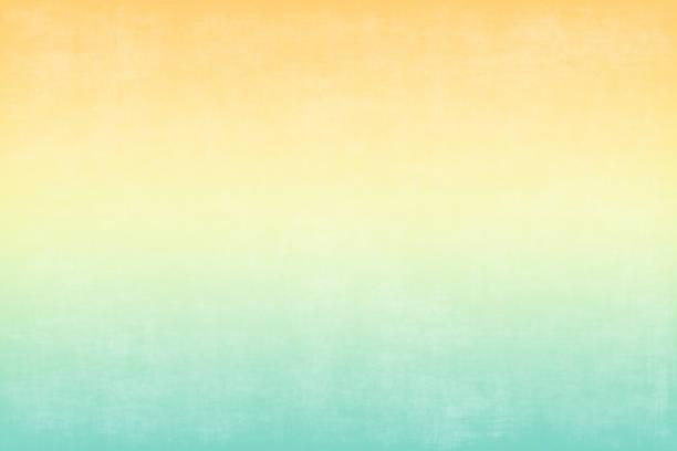 fondo otoño naranja amarillo verde pálido grunge degradado colorido patrón abstracto de mármol papel textura minimalismo - summer background fotografías e imágenes de stock