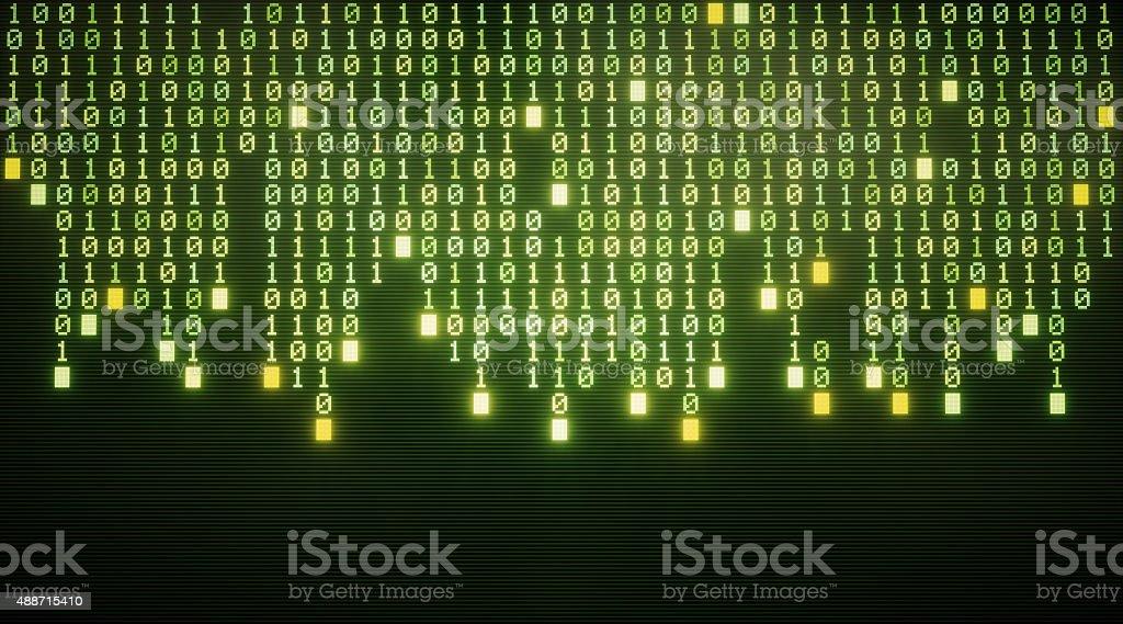 IT Background Binary Code A14 stock photo