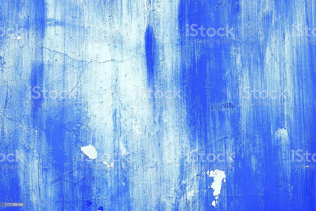 Background: Blue Grunge Texture royalty-free stock photo