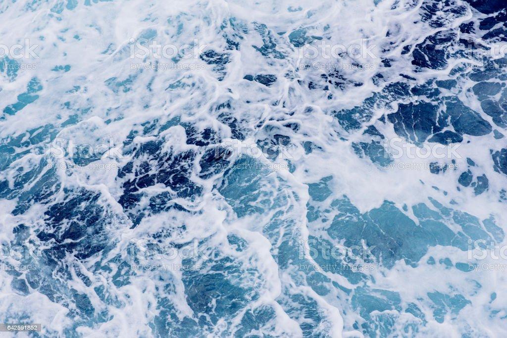 Sfondo Di Onde Del Mare Blu Fotografie Stock E Altre Immagini Di
