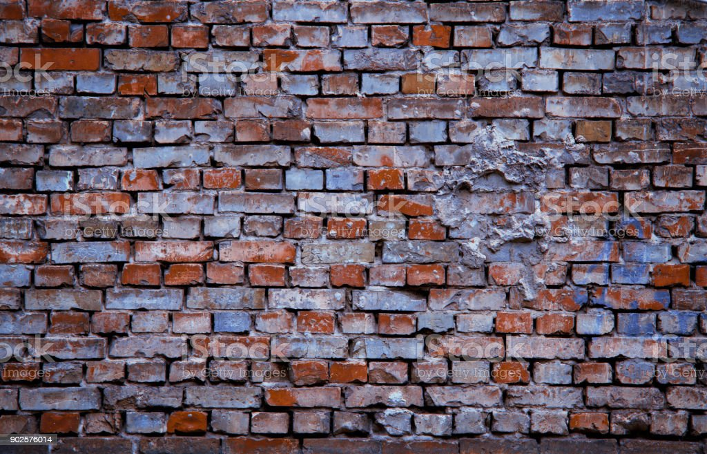 Background brick wall texture stock photo