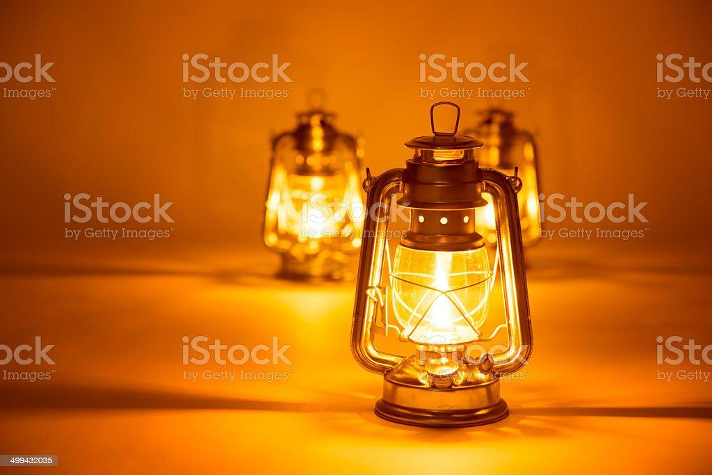 Picture of: Background Burning Three Kerosene Lamps Stock Photo Download Image Now Istock