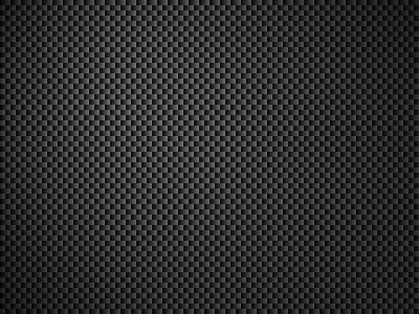 Grau Hintergrund-carbon black – Foto