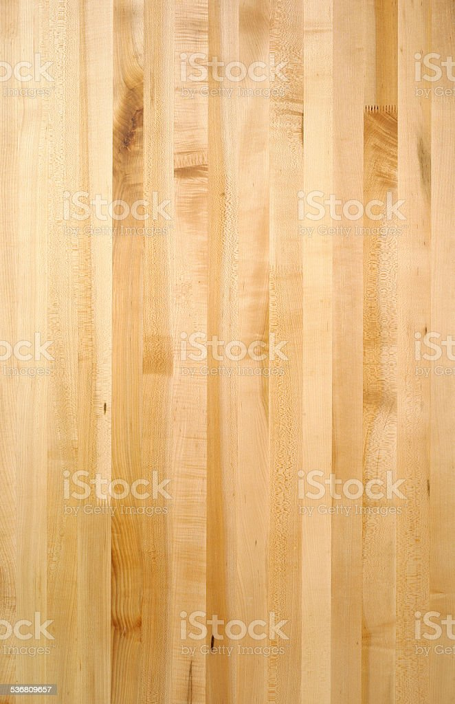 Background Close up of maple counter top stock photo