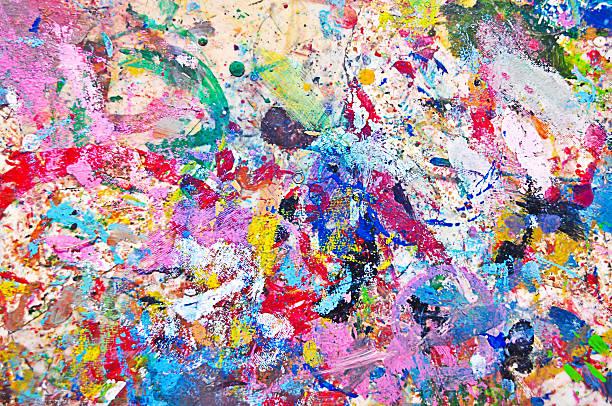 Background Colorful Paint圖像檔