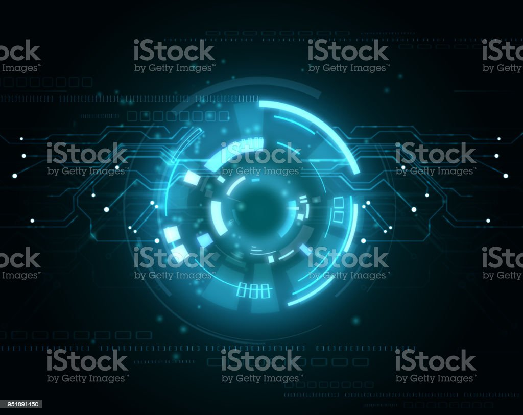 Background conceptual image of digital 3d stock photo