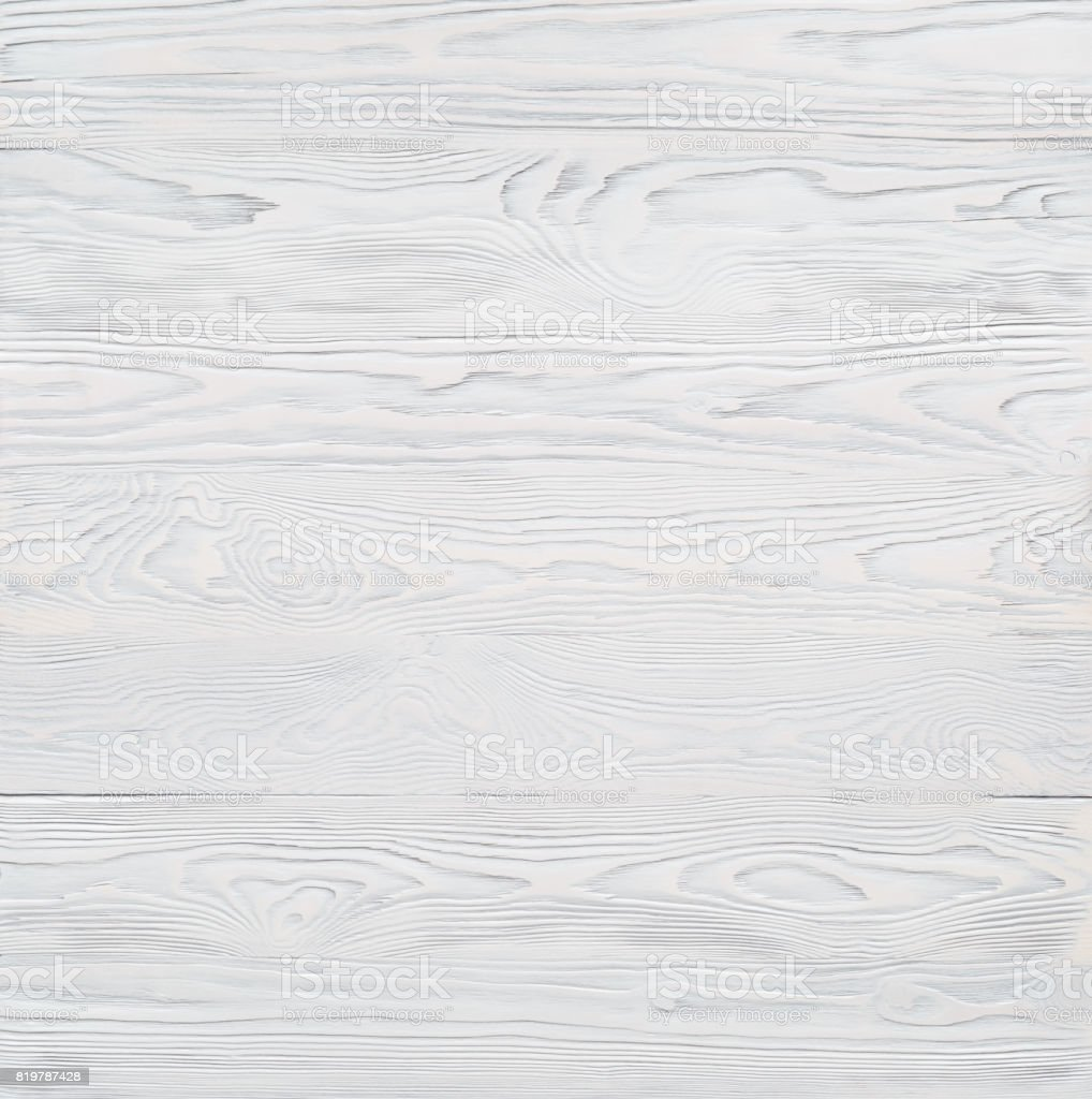 Background consisting of wooden horizontal planks coloured with white paint stock photo