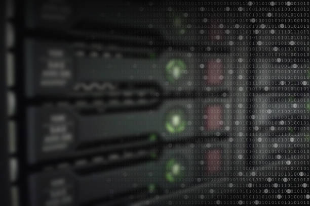 background data storage stock photo