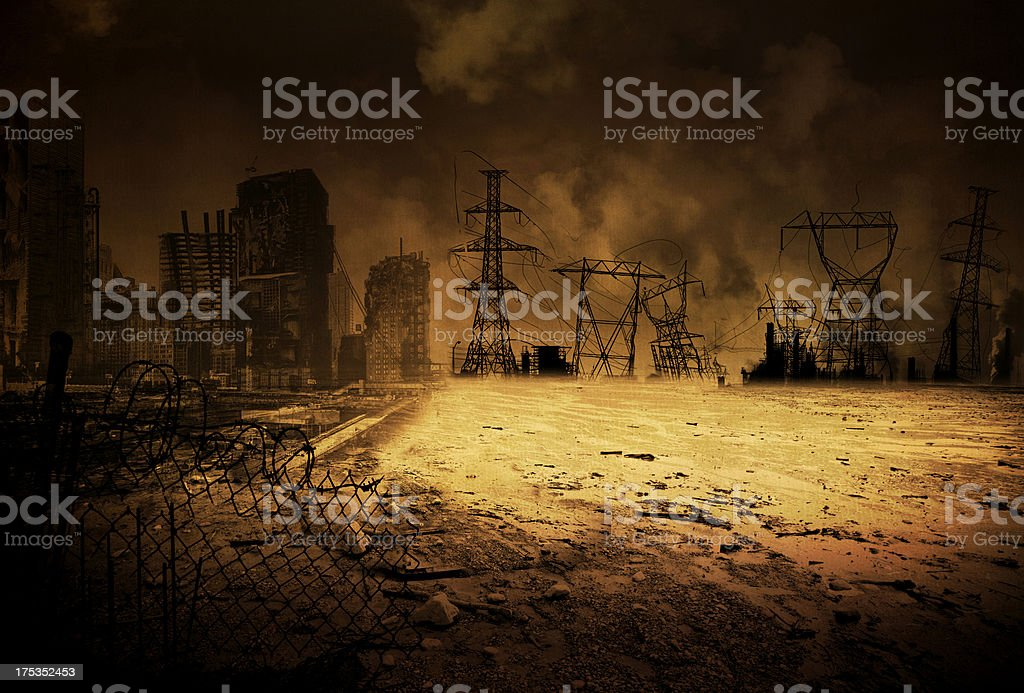Background End Time V2 stock photo