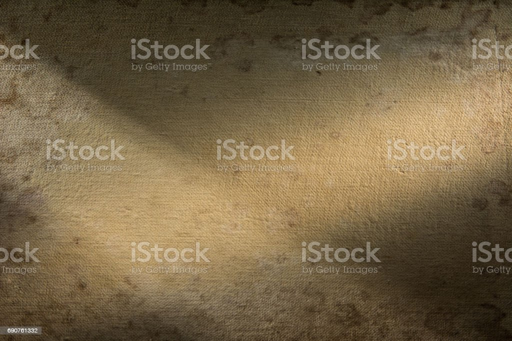 Background fabric is highlighted on both sides by spotlights. stock photo