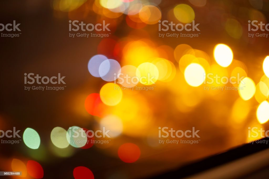 background. Festive abstract background with bokeh defocused lights 2 royalty-free stock photo