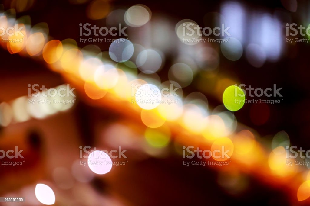 background. Festive abstract background with bokeh defocused lights 3 royalty-free stock photo