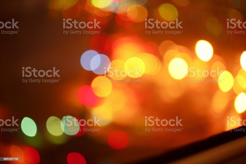 background. Festive abstract background with bokeh defocused lights 3 zbiór zdjęć royalty-free