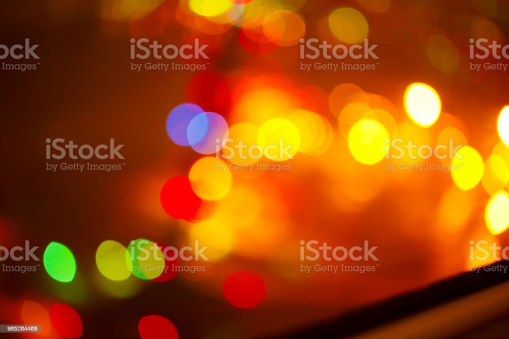 background. Festive abstract background with bokeh defocused lights 4 royalty-free stock photo