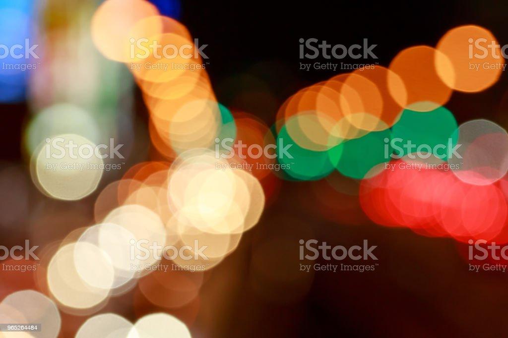 background. Festive abstract background with bokeh defocused lights zbiór zdjęć royalty-free