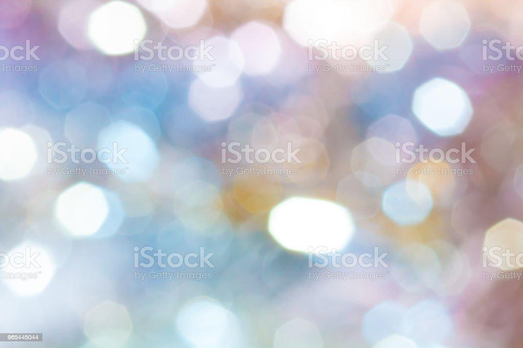 背景。節日抽象背景與散景彌散燈 - 免版稅事件圖庫照片
