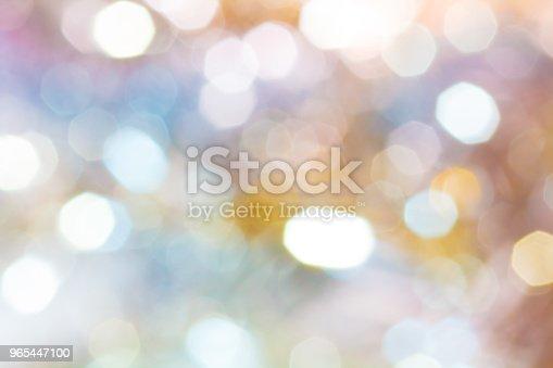 Background Festive Abstract Background With Bokeh Defocused Lights - Stockowe zdjęcia i więcej obrazów Abstrakcja