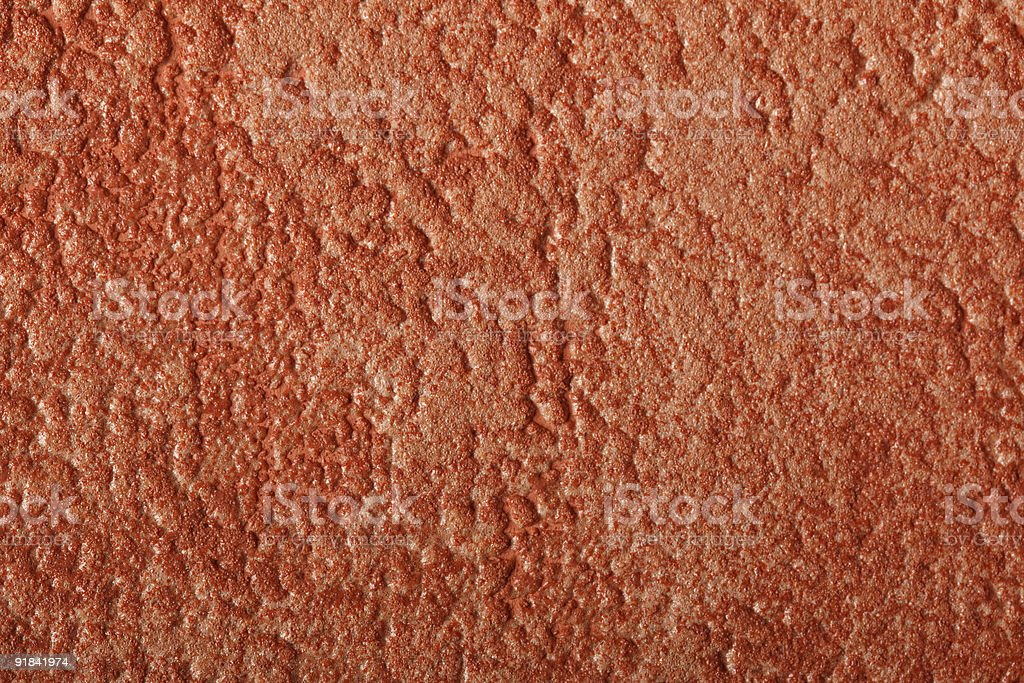 Background foamed orange-brown royalty-free stock photo